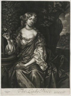 Lady Price, published by Alexander Browne, after  Sir Peter Lely, circa 1684 - NPG  - © National Portrait Gallery, London