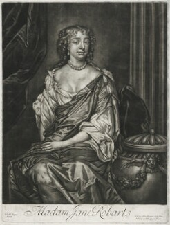 Jane Robarts, published by Alexander Browne, after  Sir Peter Lely - NPG D11452