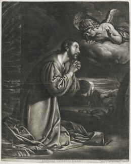 The Agony in the Garden, published by Alexander Browne, after  Annibale Carracci, circa 1684 - NPG  - © National Portrait Gallery, London