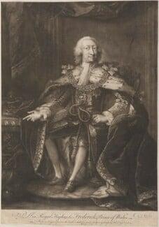 Frederick Lewis, Prince of Wales, by Thomas Frye - NPG D11285