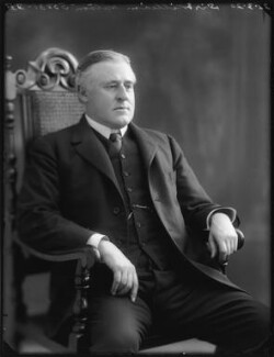 Sir (John) William Watson, by Bassano Ltd - NPG x120369