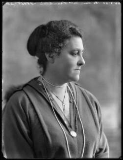 Hon. Henrietta Franklin (née Montagu), by Bassano Ltd - NPG x120386