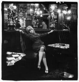 Marianne Faithfull, by Gered Mankowitz, 1964 - NPG x88064 - Photograph by Gered Mankowitz © Bowstir Ltd 2017 / mankowitz.com