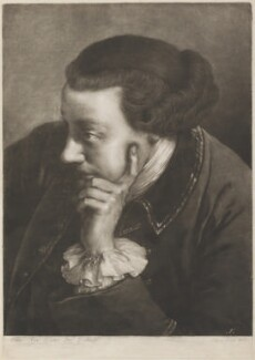 Man leaning on right elbow, by Thomas Frye - NPG D11296