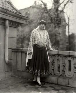 Marie, Queen of Romania, by Vandyk - NPG x129682