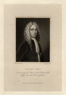 Gilbert West, by Edward A. Smith, after  Unknown artist - NPG D11479