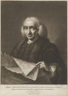 John Ellis, by William Pether, after  Thomas Frye - NPG D11303