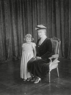 Queen Elizabeth II; Queen Mary, by Vandyk - NPG x130813