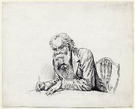 James Russell Lowell, by Harry Furniss - NPG D11480