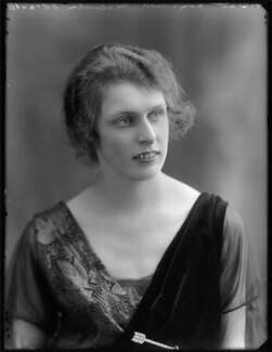 Geraldine Margot (née Digby), Lady Malcolm, by Bassano Ltd - NPG x120428