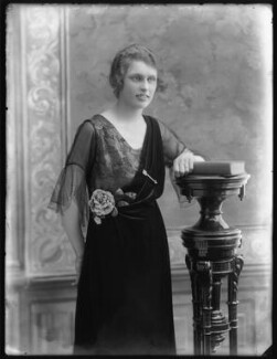 Geraldine Margot (née Digby), Lady Malcolm, by Bassano Ltd - NPG x120429