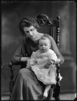 Geraldine Margot (née Digby), Lady Malcolm; Margaret Jane Venetia Holt, by Bassano Ltd - NPG x120431