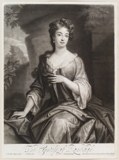 Margaret Jones (née Cecil), Countess of Ranelagh, by and published by John Smith, after  Sir Godfrey Kneller, Bt, 1700 - NPG D11598 - © National Portrait Gallery, London
