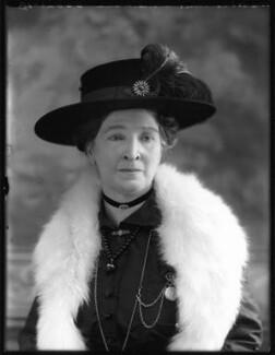 Amelia (née Herschel), Lady Wade, by Bassano Ltd - NPG x120465