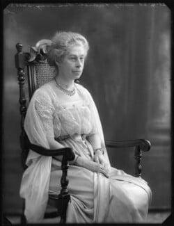 Kate Harriet (née Burfield), Lady Lindsay, by Bassano Ltd, 21 April 1920 - NPG x120484 - © National Portrait Gallery, London