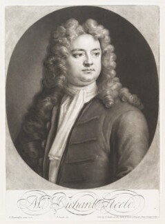 Sir Richard Steele, by and sold by John Smith, after  Jonathan Richardson, 1713 (1712) - NPG D11510 - © National Portrait Gallery, London