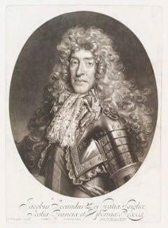 King James II, by John Smith, published by  Alexander Browne, after  Nicolas de Largillière, 1686 - NPG  - © National Portrait Gallery, London