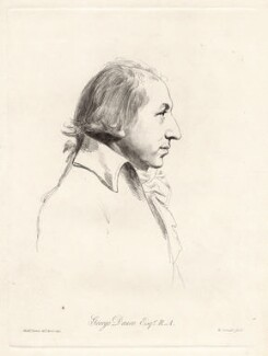 George Dance, by William Daniell, after  Nathaniel Dance (later Sir Nathaniel Holland, Bt) - NPG D12042