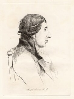 Joseph Bonomi, by William Daniell, after  George Dance - NPG D12048