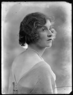 Hon. Violet Averil Margaret Campbell, by Bassano Ltd - NPG x120517
