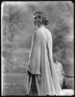 Hon. Violet Averil Margaret Campbell, by Bassano Ltd - NPG x120518