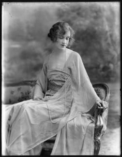 Hon. Violet Averil Margaret Campbell, by Bassano Ltd - NPG x120519