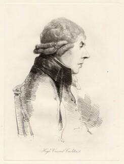 Hugh Carleton, Viscount Carleton, by William Daniell, after  George Dance - NPG D12051