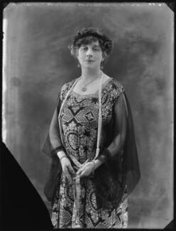 Florence Meta (née Draper), Lady Gooch, by Bassano Ltd - NPG x120531