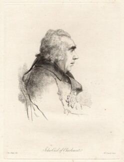 James Caulfeild, 1st Earl of Charlemont, by William Daniell, after  George Dance - NPG D12053