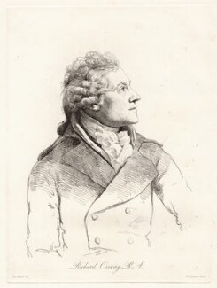 Richard Cosway, by William Daniell, after  George Dance - NPG D12058