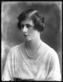 Rachel (née Cavendish), Viscountess Stuart of Findhorn, by Bassano Ltd - NPG x120548