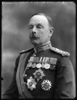 Sir Henry Crichton Sclater, by Bassano Ltd - NPG x120556