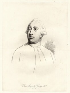 King George III, by William Daniell, after  Nathaniel Dance (later Sir Nathaniel Holland, Bt) - NPG D12067