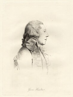 William Hamilton, by William Daniell, after  George Dance - NPG D12070