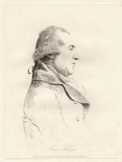 Thomas Hearne, by William Daniell, after  George Dance - NPG D12073