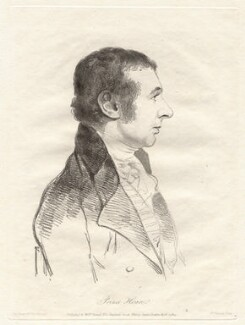 Prince Hoare, by William Daniell, after  George Dance - NPG D12074