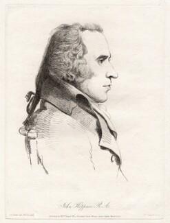 John Hoppner, by William Daniell, after  George Dance, published 15 March 1810 (10 November 1793) - NPG D12076 - © National Portrait Gallery, London