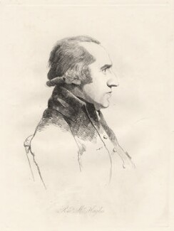 Henry Hughes, by William Daniell, after  George Dance - NPG D12078