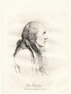 Ozias Humphry, by William Daniell, after  George Dance - NPG D12079