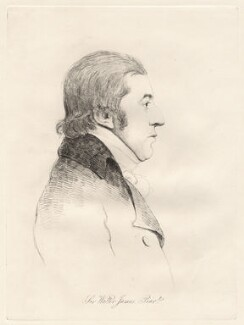 Sir Walter James James, 1st Bt, by William Daniell, after  George Dance - NPG D12080