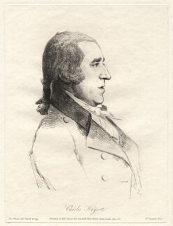 Charles Knyvett, by William Daniell, after  George Dance - NPG D12081