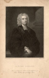 Joseph Butler, probably by Thomas Anthony Dean, after  John Vanderbank - NPG D12228