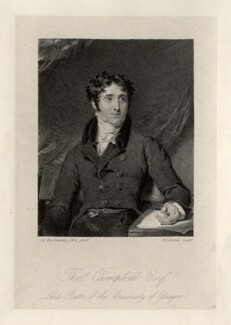 Thomas Campbell, by John Burnet, after  Sir Thomas Lawrence, published 1828 - NPG D12229 - © National Portrait Gallery, London