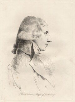 Robert Stewart, 2nd Marquess of Londonderry (Lord Castlereagh), by William Daniell, after  George Dance - NPG D12084