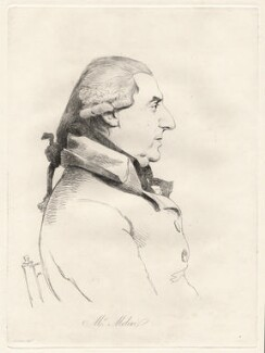 Pietro Molini, by William Daniell, after  George Dance - NPG D12087