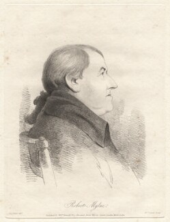 Robert Mylne, by William Daniell, after  George Dance, published 15 March 1810 (1795) - NPG D12088 - © National Portrait Gallery, London