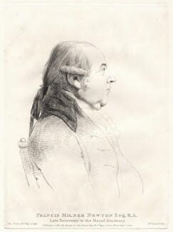Francis Milner Newton, by William Daniell, after  George Dance - NPG D12089