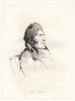 Joseph Nollekens, by William Daniell, after  George Dance, published 1854 (11 February 1810) - NPG D12090 - © National Portrait Gallery, London