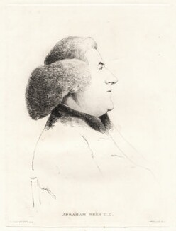 Abraham Rees, by William Daniell, after  George Dance - NPG D12092