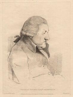 Nicolas Revett, by William Daniell, after  George Dance - NPG D12094